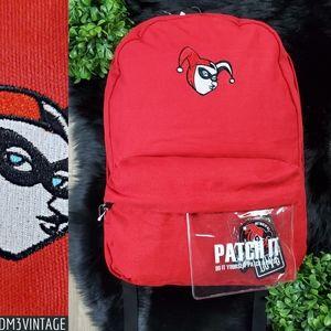 Harley Quinn DC Comics Red Backpack